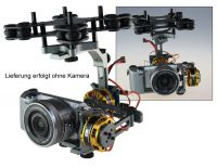 2-Achs Brushless Gimbal mit Alex Mos Board V2.2