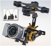 3-Achs Brushless Gimbal mit Alex Mos Board V2.2